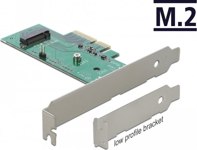 DeLOCK M.2 auf PCIe 3.0 x4 Adapter (89370) -- © caseking.de
