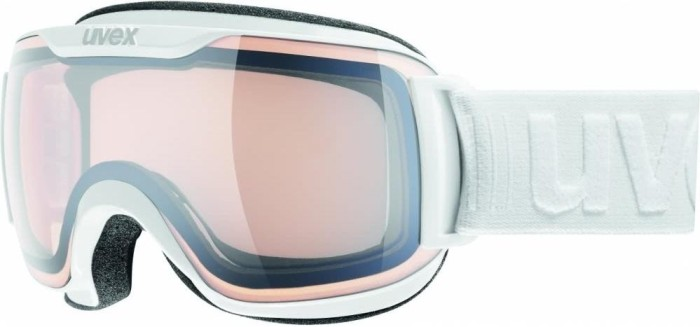 Uvex Skibrille Downhill 2000 small LM white in white 22P3H7