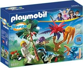 playmobil Super 4 - Lost Island mit Alien und Raptor (6687)