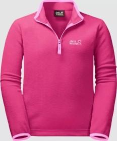 Jack Wolfskin Gecko Shirt langarm pink fuchsia (Junior) (1605552-2054)