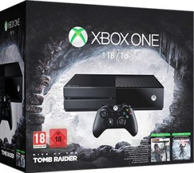 Microsoft Xbox One - 1TB Rise of the Tomb Raider Bundle schwarz