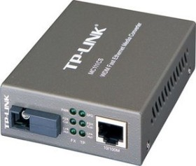TP-Link MC111CS, 100Base-FX on 100Base-TX