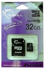 G.Skill microSDHC 32GB kit, Class 10 (FF-TSDG32GA-C10)