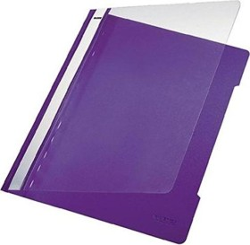 Leitz Standard Plastikhefter A4, violett, 25er-Pack (41910065#25)