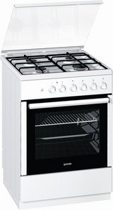 Gorenje K67120AW gas/electric cooker