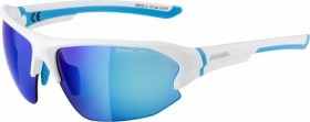 Alpina Lyron HR white matt-cyan/ceramic mirror blue (A8632.3.10)