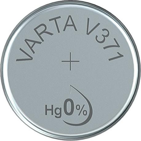 Varta Chron V371, srebro, 1.55V (0371-101-111) -- via Amazon Partnerprogramm