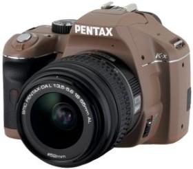 Pentax K-x schokolade mit Objektiv DA L 18-55mm (16309)