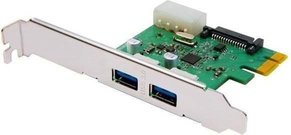 Transcend USB 3.0 Card, 2x USB 3.0, PCIe 2.0 x1 (TS-PDU3)