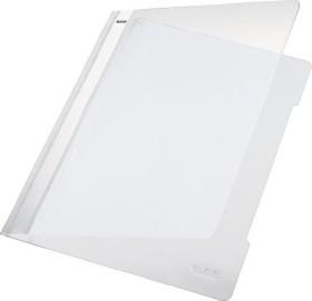 Leitz Standard Plastikhefter A4, weiß, 25er-Pack (41910001#25)