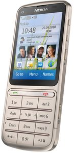 Nokia C3-01 Touch and Type golden khaki