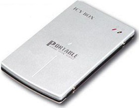 RaidSonic Icy Box IB-250U silber, USB 2.0 Micro-B (20250)