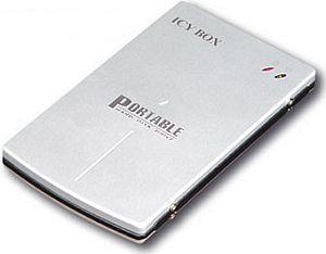 """RaidSonic Icy Box IB-250U srebrny, 2.5"""", USB 2.0 Micro-B (20250)"""