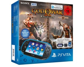Sony PlayStation Vita Wi-Fi God of War Collection Bundle schwarz