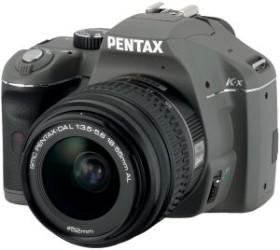 Pentax K-x olivgrün mit Objektiv DA L 18-55mm (16319)