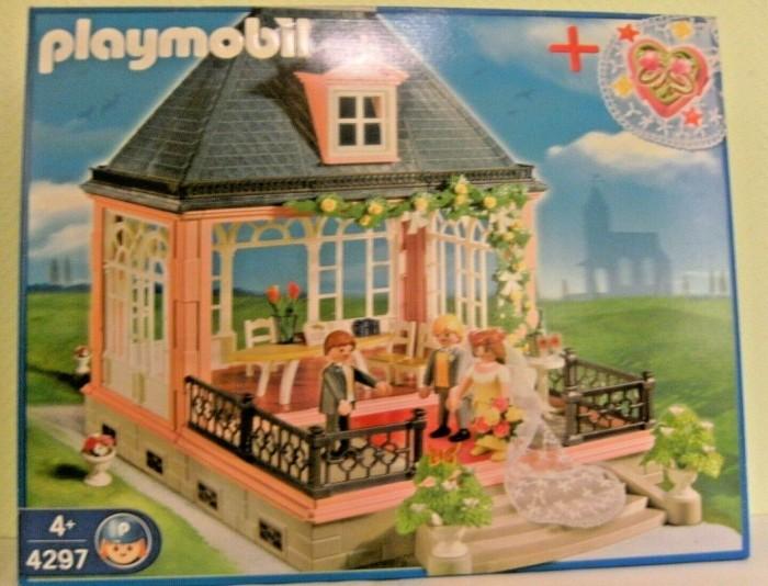 playmobil City Life - Hochzeitspavillon mit Schmuckkästchen (4297) -- via Amazon Partnerprogramm