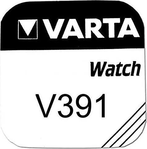 Varta Chron V391, srebro, 1.55V (0391-101-111) -- via Amazon Partnerprogramm
