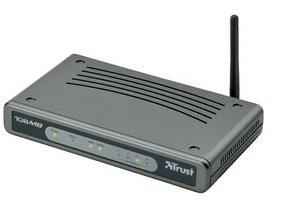 Trust 108M Speedshare Turbo Pro router & WLan Access Point (13643)