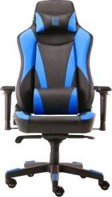 LC-Power 701BBL Gamingstuhl, schwarz/blau (LC-GC-701BBL)