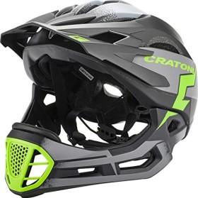 Cratoni C-Maniac Pro Fullface-Helm black/lime matt