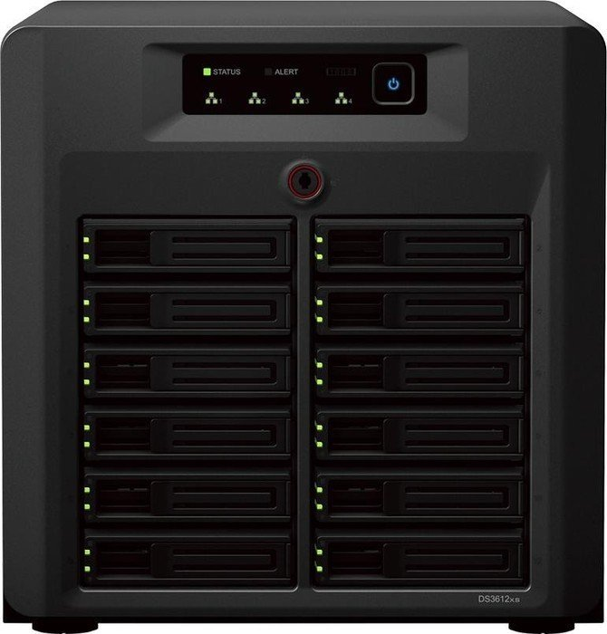 Synology Diskstation DS3612xs, 4x Gb LAN