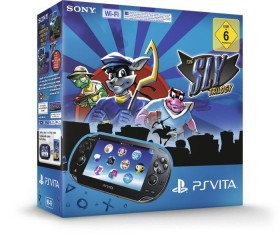 Sony PlayStation Vita Wi-Fi The Sly Trilogy Bundle schwarz