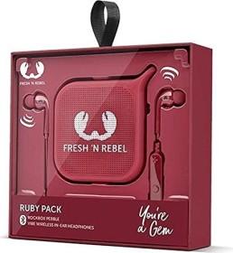 Fresh 'n Rebel Vibe Wireless/Pebble Gift Pack Ruby (8GIFT05RU)