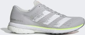 adidas adizero Adios 5 grey one/silver metallic/light flash red (Damen) (EH3129)