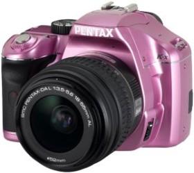 Pentax K-x rosa mit Objektiv DA L 18-55mm (16364)