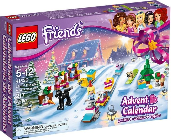 Weihnachtskalender 2019 Mädchen.Lego Friends Advent Calendar 2017 41326