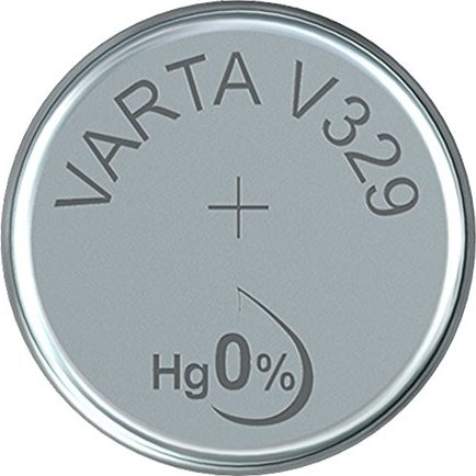 Varta Chron V329, Silber, 1.55V (0329-101-111) -- via Amazon Partnerprogramm