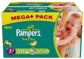 Pampers Baby-Dry Gr.3 Einwegwindel, 4-9kg, 114 Stück