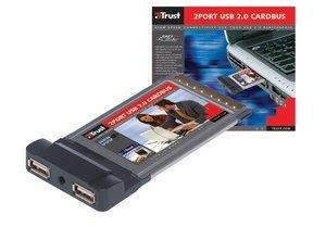 Trust 2Port USB 2.0 Cardbus (14210)