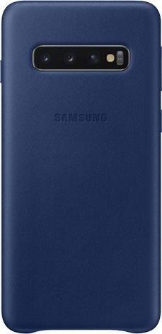 Samsung Leather Cover für Galaxy S10 navy blau (EF-VG973LNEGWW)