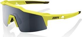 100% Speedcraft SL Soft tact banana/black mirror-clear lens (61002-004-61)