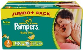 Pampers Baby-Dry Gr.3 Einwegwindel, 4-9kg, 90 Stück