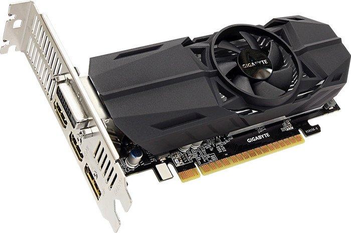 Gigabyte GeForce GTX 1050 OC Low Profile 2G, 2GB GDDR5, DVI, 2x HDMI, DP (GV-N1050OC-2GL)