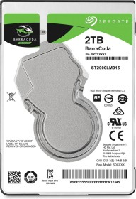Seagate Laptop HDD 2TB, SATA 6Gb/s, retail (STBD2000102)