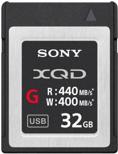 Sony G-Series R440/W400 XQD Card 32GB (QD-G32E)