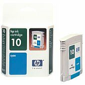 HP ink 10 cyan (C4841AE)