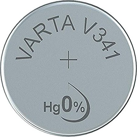Varta Chron V341, srebro, 1.55V (0341-101-111) -- via Amazon Partnerprogramm
