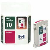 HP ink 10 magenta (C4843AE)