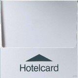 Jung Serie A Hotelcard-Schalter ohne Taster-Einsatz, aluminium (A 590 CARD AL)
