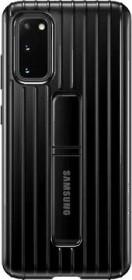 Samsung Protective Standing Cover für Galaxy S20 schwarz (EF-RG980CBEGEU)