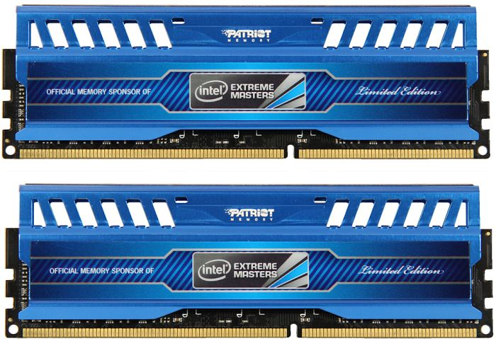 Patriot Viper 3 Intel extreme Masters DIMM kit 16GB PC3-14900U CL10-11-10-30 (DDR3-1866) (PVI316G186C0K)