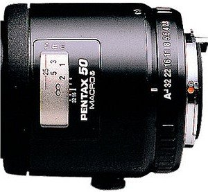 Pentax smc FA 50mm 2.8 macro black (28170)