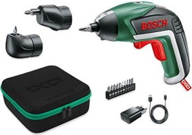 Bosch DIY Ixo V Akku-Schrauber 5. Gen. inkl. Akku 1.5Ah + Winkel-/Exzenteraufsatz + Zubehör (06039A8002)