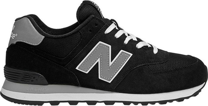 the best attitude 3bcca 7cffb New Balance 574 black/grey from £ 40.00