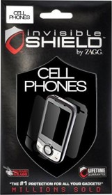 ZAGG invisibleSHIELD protective foil for BlackBerry (various types)