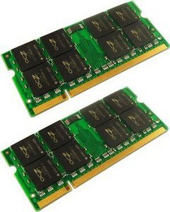 OCZ SO-DIMM Kit   2GB, DDR2-800, CL5-5-5-15 (OCZ2M8002GK)